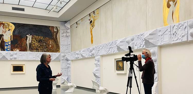 Livestream over Klimt vanuit het Van Abbemuseum