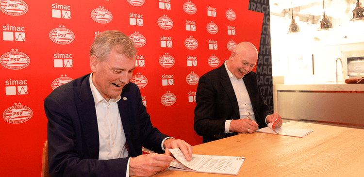 Simac wordt IT-partner van PSV