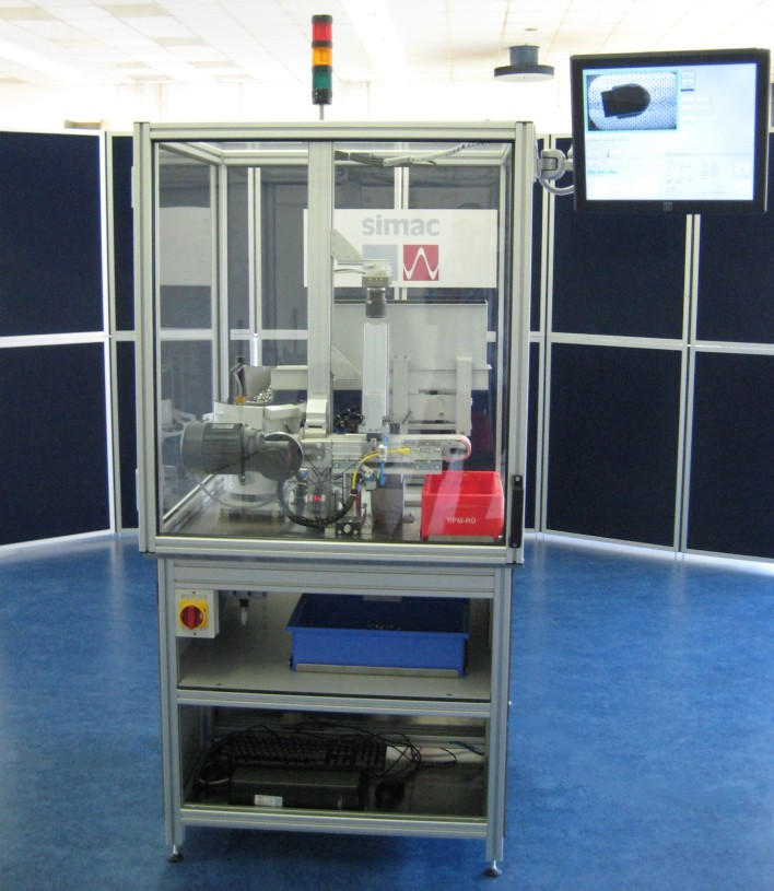 Simac Masic & TSS, vision inspection machine, inspection system